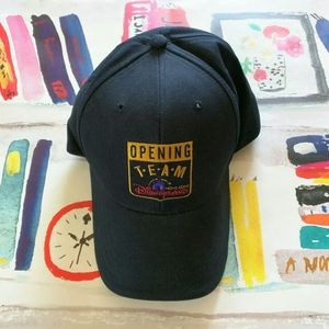NWT Disneyland Hong Kong Opening Team Baseball Hat